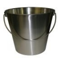 Bucket Stainless Steel 300 x 265 mm