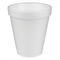 Foam Cups Sleeve of 25