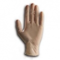 CLEAR LATEX GLOVES LOW POWDER MEDIUM